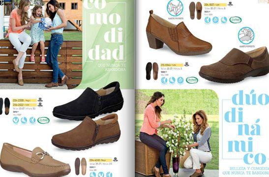 Catalogo Andrea verano 2015 : calzado confort Damas