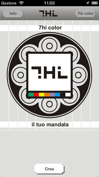 '7hi color' an App to create your mandala http://www.sevenhi.it/