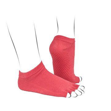 Women Cotton Socks Exercise Sports Yoga Sock Open Toe Half Palm Socks online - NewChic Mobile.