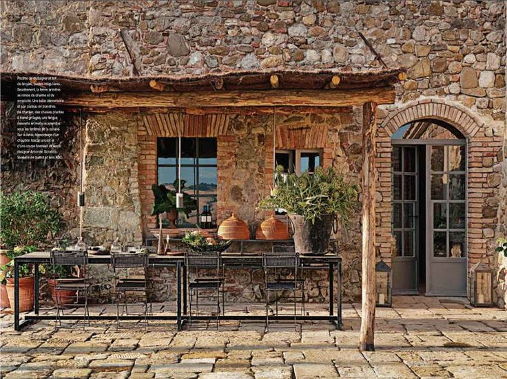 rustic italian kitchen designs | Rustic Italian Decorating Ideas with stones material