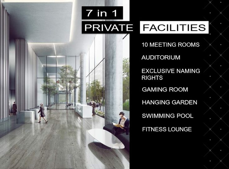 SOHO – C, ukuran semigross: * Office Area : 90.48 m2 * Mezzanine : 46.34 m2.