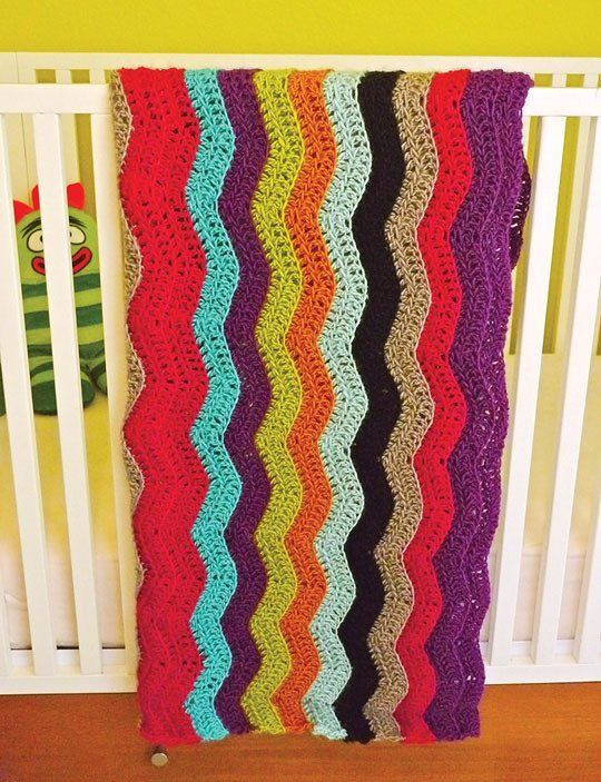 Missoni-inspired Blanket