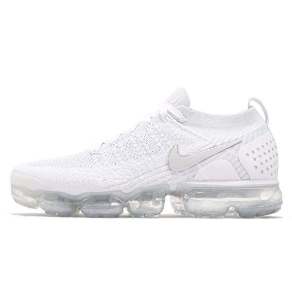 huge selection of 3de4c d2042 NIKE Men's Air Vapormax Flyknit 2, White/White-VAST Grey ...