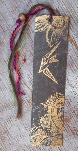 A bevy of bookmarks (pic heavy) - PAPER CRAFTS, SCRAPBOOKING & ATCs (ARTIST TRADING CARDS)