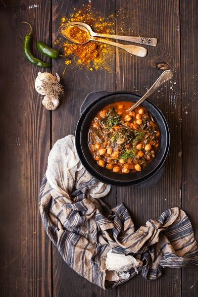Moroccan Chickpea Soup | One Girl in the Kitchen