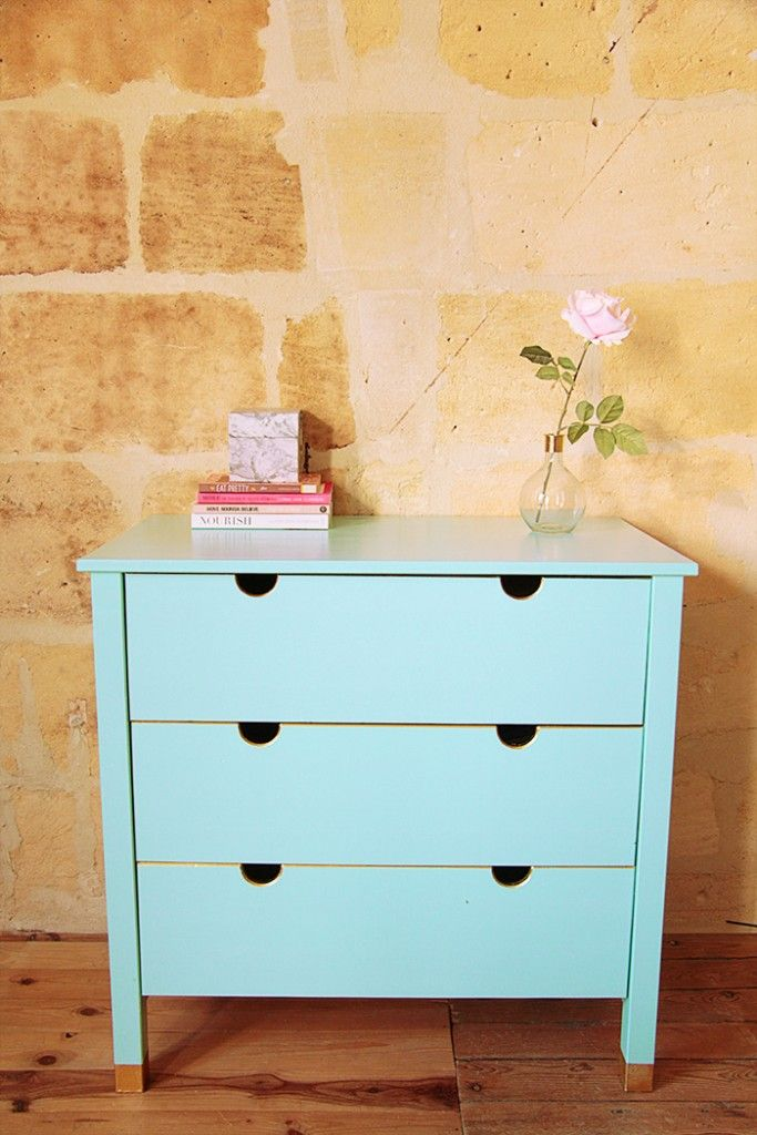 -DIY- Dresser or changing table. For the future nursery. / copperboom.fr