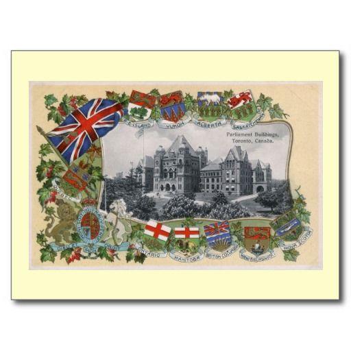 Parliament, Toronto, Canada Vintage Post Cards