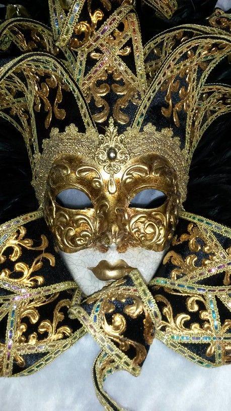 CARNAVAL / MASCARAS : Mascara veneciana plumas Mujer