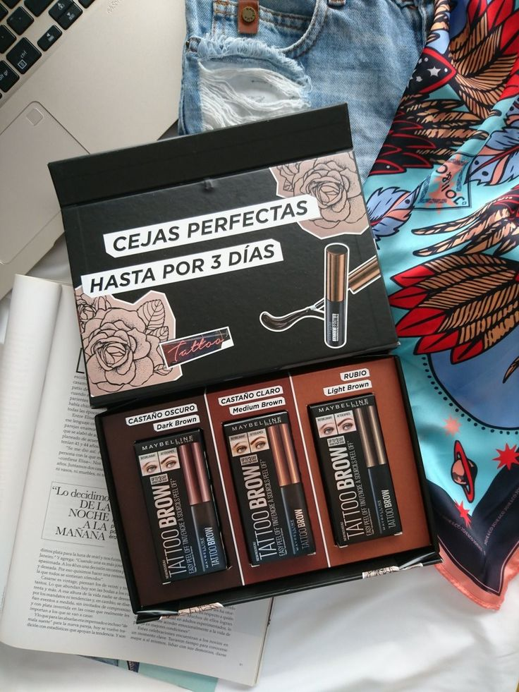 Tattoo brow Maybelline Cejas perfectas, Cejas, Maybelline