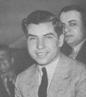 "Salvatore ""Lucky Luciano"" Lucania (Mobster) died of a heart attack 1897-1962"