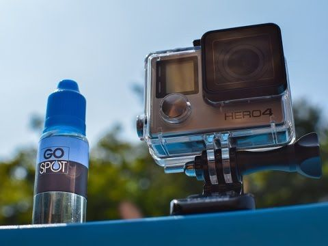 5 Ways To Prevent Water Drops on GoPro Lens | Click Like This