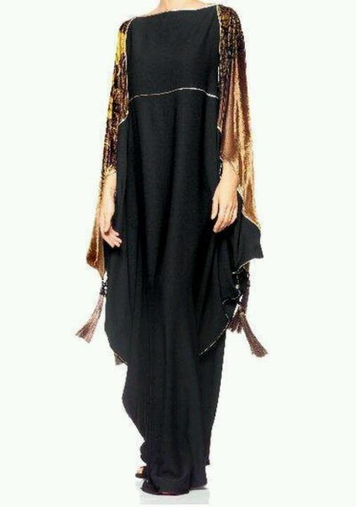 Definitely stunning abaya for formal wear....