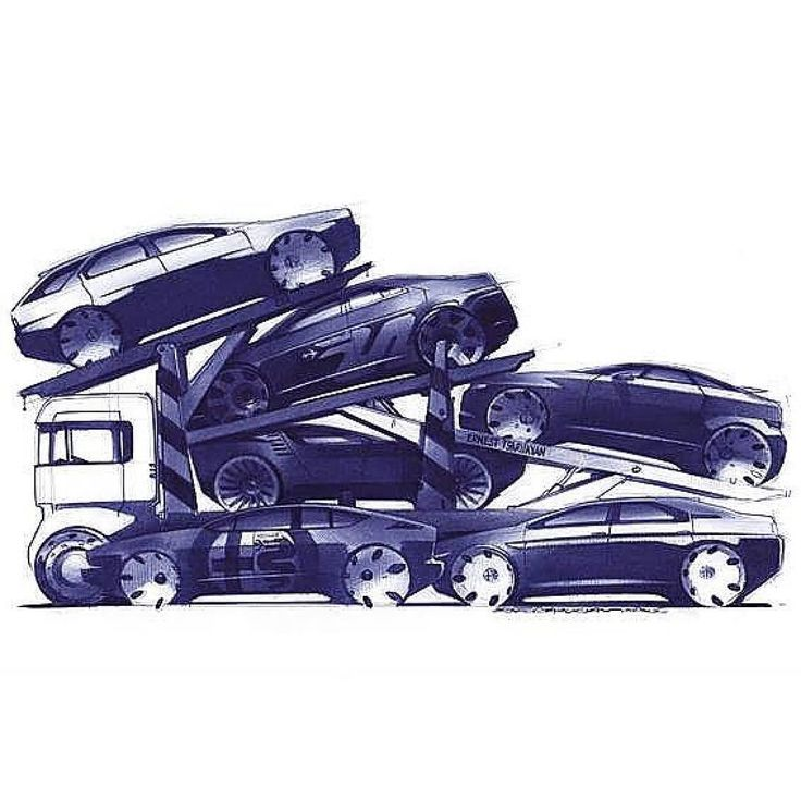 #AlfaRomeo transporter by Ernest Tsarukyan