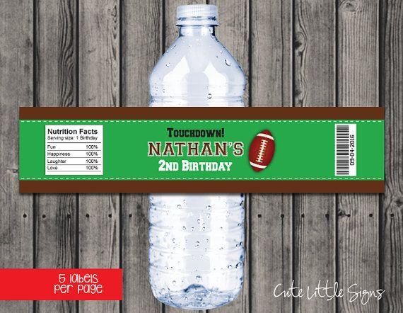 Best  Football Water Bottles Ideas On   Football