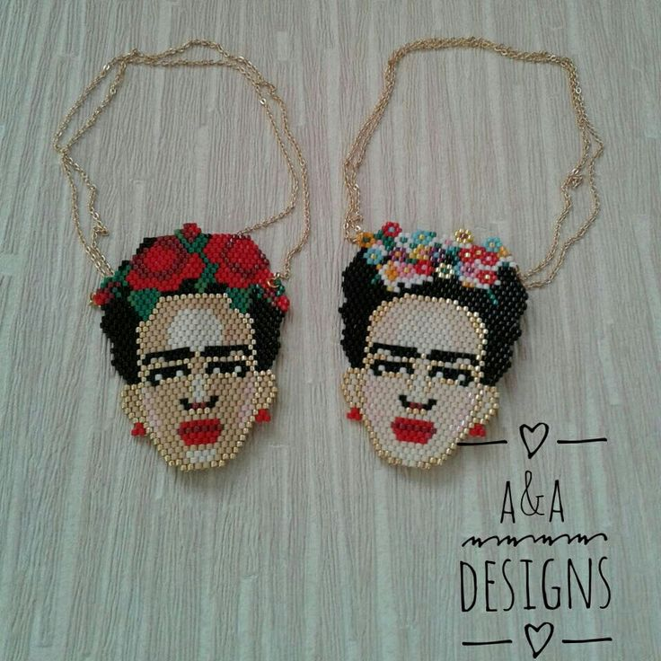Miyuki delica Frida necklace