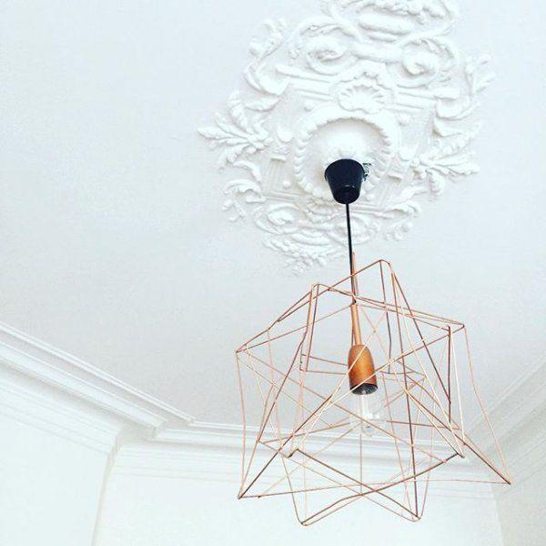 Une suspension géométrique / Light