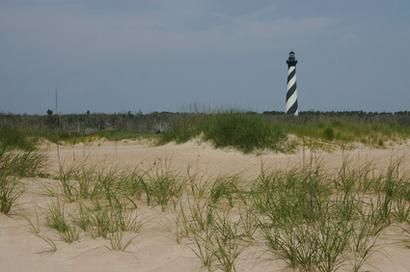 Beaches to camp at in North Carolina
