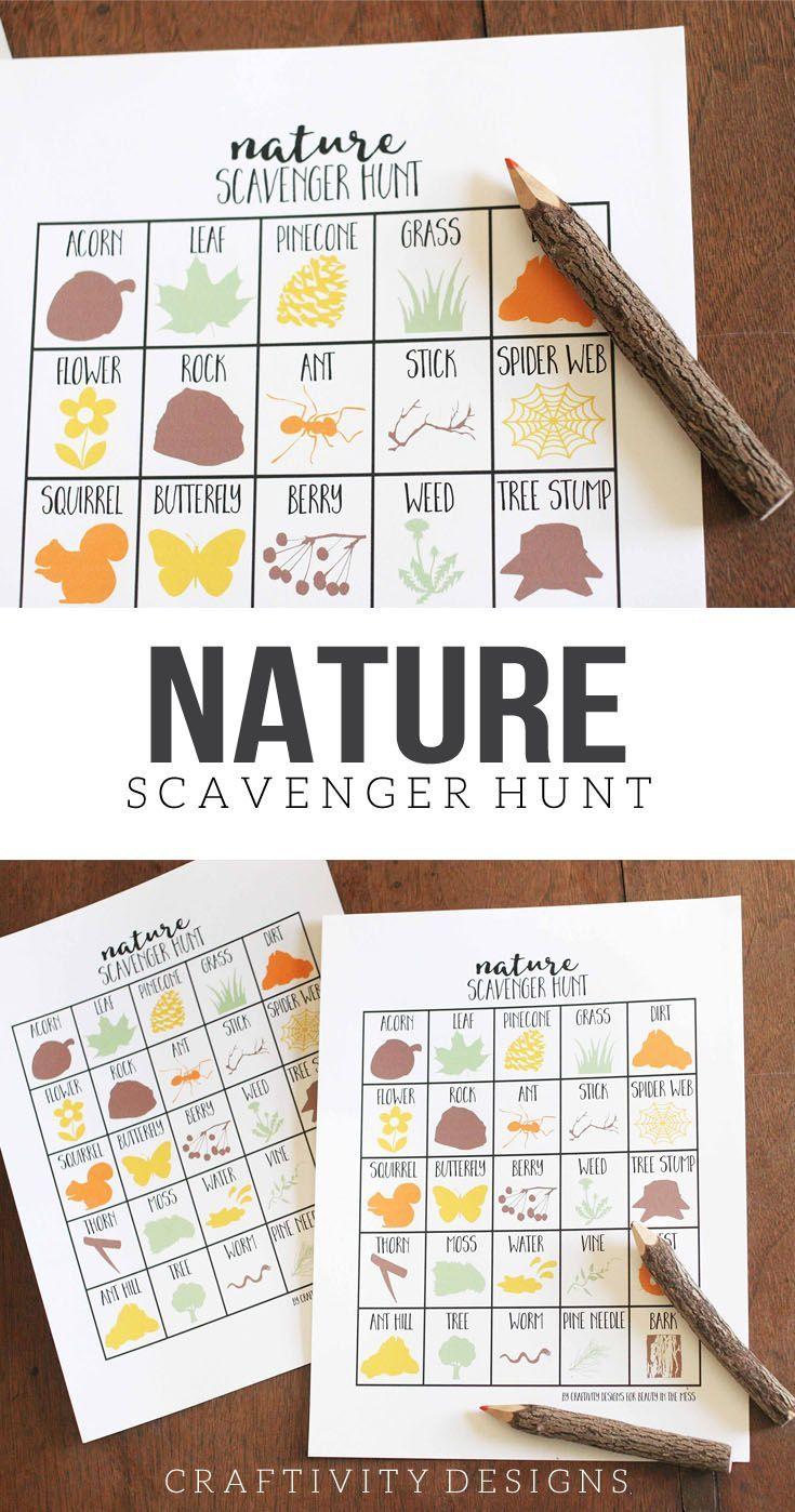 25 best ideas about nature scavenger hunts on pinterest camping scavenger hunts scavenger. Black Bedroom Furniture Sets. Home Design Ideas
