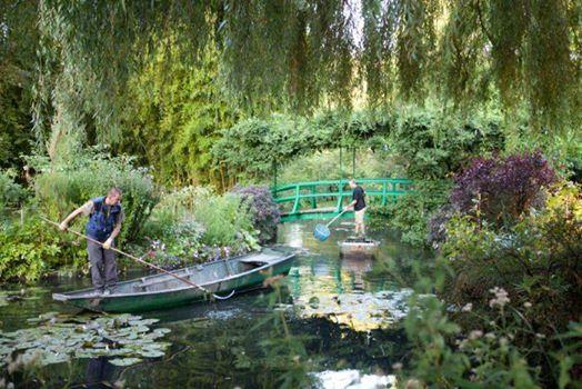 Giverny garden for Jardin a dessiner