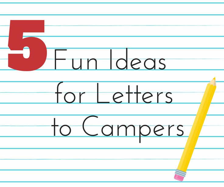 "With children heading to summer camp in a matter of weeks, parents will soon have a new daily ""to do""– write and send a letter or email to their campers! Because we're not in the habit of writing letters to our kids much these days – with brief texts being the primary form of written …"