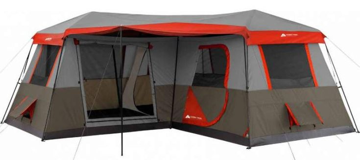 Ozark Trail 16x16 Feet 12 Person 3 Room Instant Cabin Tent