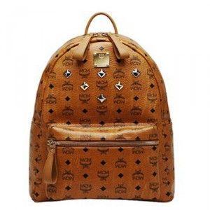 $105.60 Cheap MCM Backpack Worldwide Cognac Visetos Brown