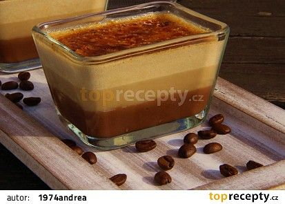 Čokoládovo - kávové créme brulée recept - TopRecepty.cz