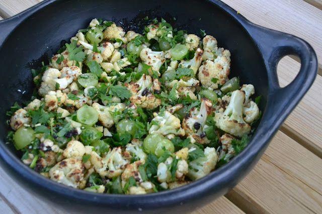 Eet lekker: Bloemkoolsalade met druiven en kaas