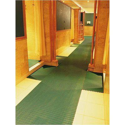 Mats Inc. World's Best Barefoot Anti-Slip Mat Size: 2' x 30', Color: Forest Green