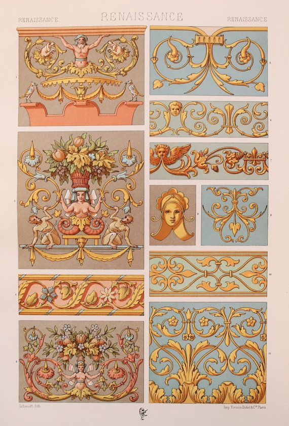 Renaissance Decorative Ornament Tapestries by PaperPopinjay