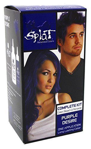 Splat Semi Permanent Hair Color - Purple Desire by Splat ** More details can be found by clicking on the image. #hairoftheday