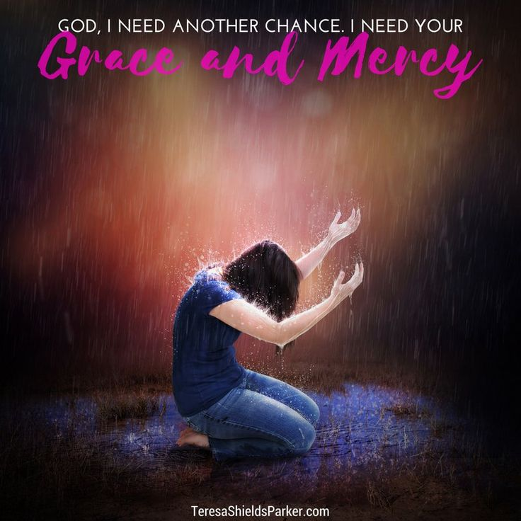 God hears our heartfelt cries of repentance and grants a do-over out of His boundless supply of both grace and mercy. #sweetgrace