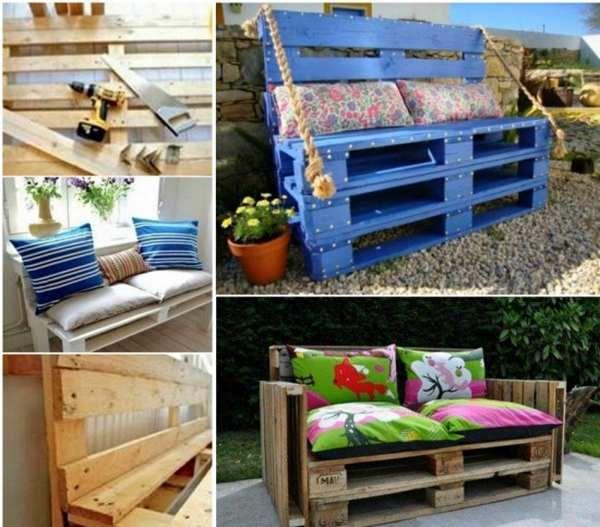 Oltre 25 fantastiche idee su panchine da giardino su pinterest for Panca pallets