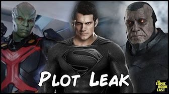 Superman's Black Suit FIRST LOOK for Justice League - YouTube