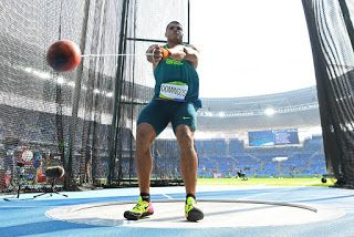 Blog Esportivo do Suíço: Finalista olímpico, Wagner Domingos vence lançamento de martelo na Eslovênia