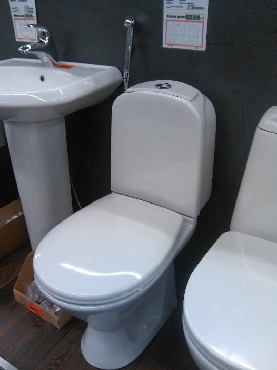 Туалет Idis из России, восхитительная керамика, двойной слив