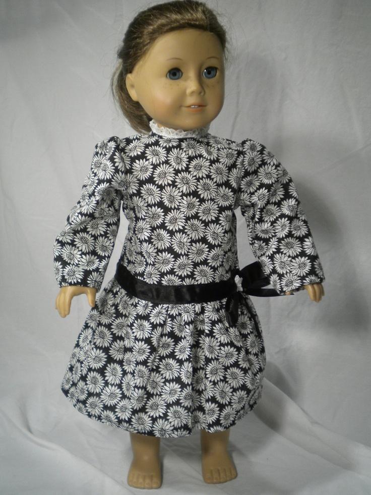 American doll dress. So cute!!