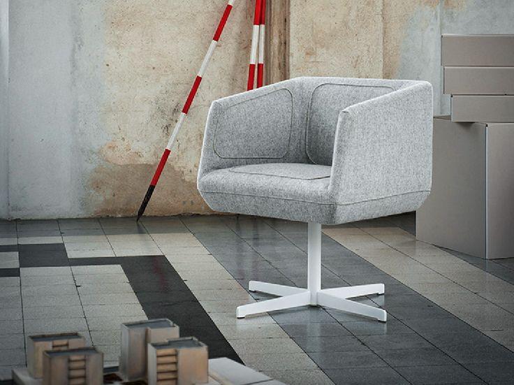 DRESSED Petit fauteuil design by Tacchini Italia Forniture