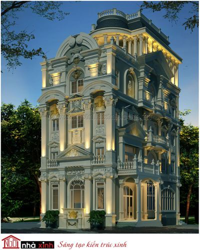 classical villa : classical style villa, splendid beauty, elegance. | hathunguyen