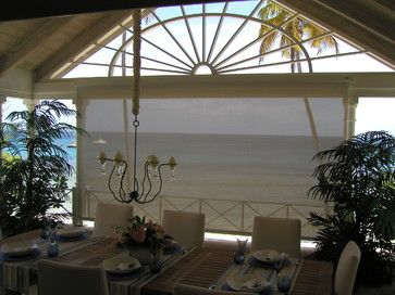 Ocean View Screen - tropical - roller blinds - other metro - Talius