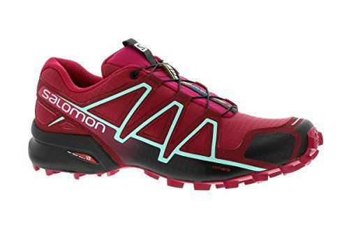 Salomon Femme Speedcross 4 Chaussures de Course à Pied et Trail Running: Chaussures de course à pied et trail running pour femme pour de…