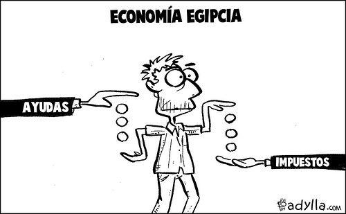 Explicación de la #economía egipcia. Cuando las #subvenciones se van en #impuestos