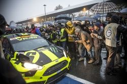 IPA 2015 - Editoriale Sport - Honorably Mention // Valentino Rossi is one of the most famous racer of the world, both in motorcycles and in rally cars. The Monza Rally show is a kermesse born for him, at the end of the agonistical season. The scenary is the Monza Race Course, where a lot of pilots are creating a show made of motors, women and fashion.