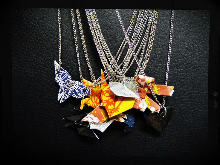 Origami Necklaces Orders | omeupandan.info@gmail.com