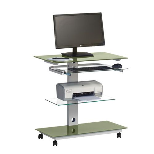1000 images about office desks with wheels portable or - Mobile office desk ...