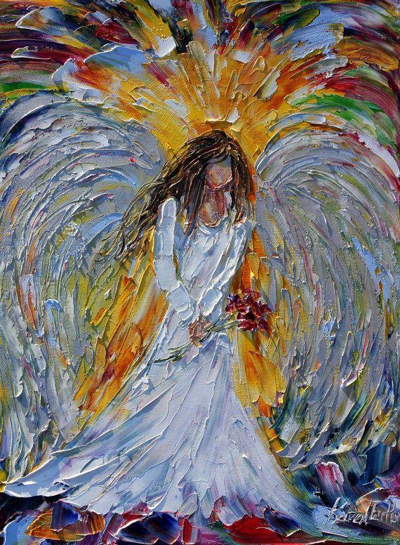 Angel Art Oil Paintings