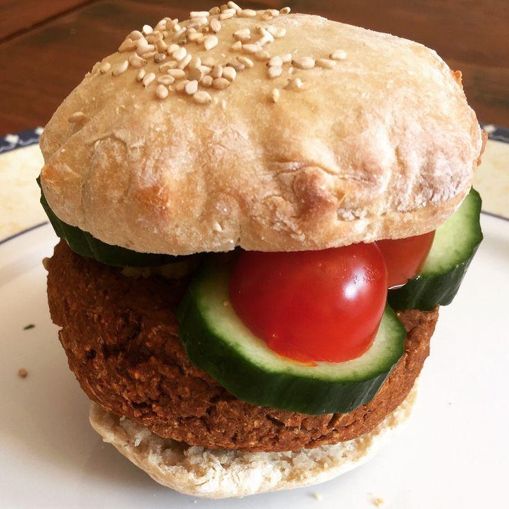 Nieuw recept online: Simpele Glutenvrije Vegan Burgers of vegan gehaktballetjes.