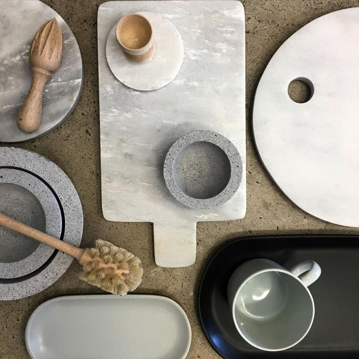 Concrete, Marble, Wood Kitchen Homeware and Décor at Minta & Co.