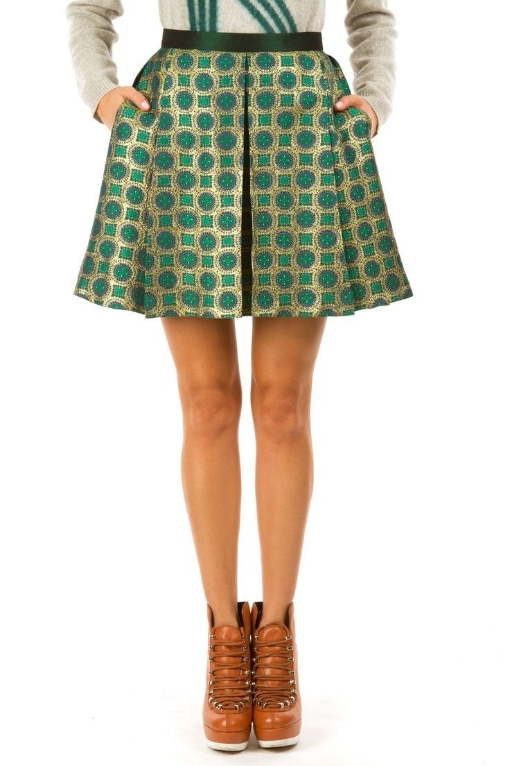 I really really would love to have you in my closet, Kenzo skirt.