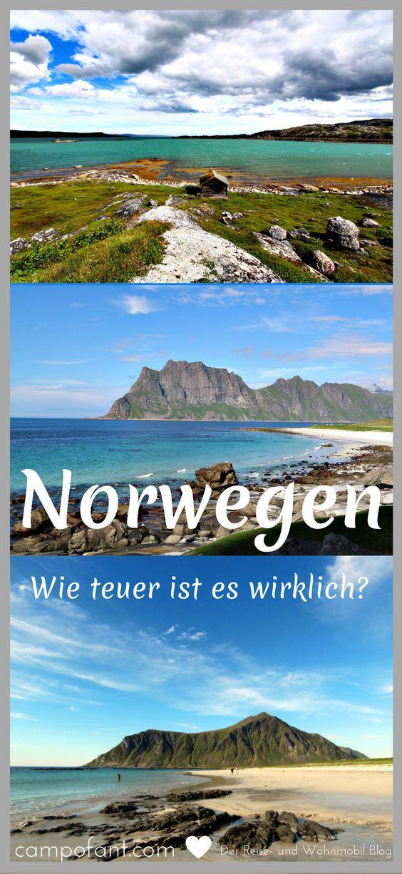Preise in Norwegen - oft hört man, dass es in diesem Land Skandinaviens extrem teuer sein soll. Doch wie teuer ist es wirklich? Wir sagen dir was Lebensmittel, Zigaretten, Alkohol, Campingplätze und Maut in Norwegen kosten. So kannst du deinen Urlaub auch finanziell planen. #norwegen #preise #kosten #teuer #wohnmobil